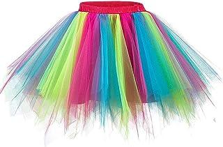 Ellames Women's Vintage 1950s Tutu Petticoat Ballet Bubble Dance Skirt