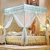 kexinda DREI-Tür offen Princess Moskitonetz Doppelbett Vorhänge Schlafen Vorhang Bett-Überdachung Net Voll Königin King Size Net