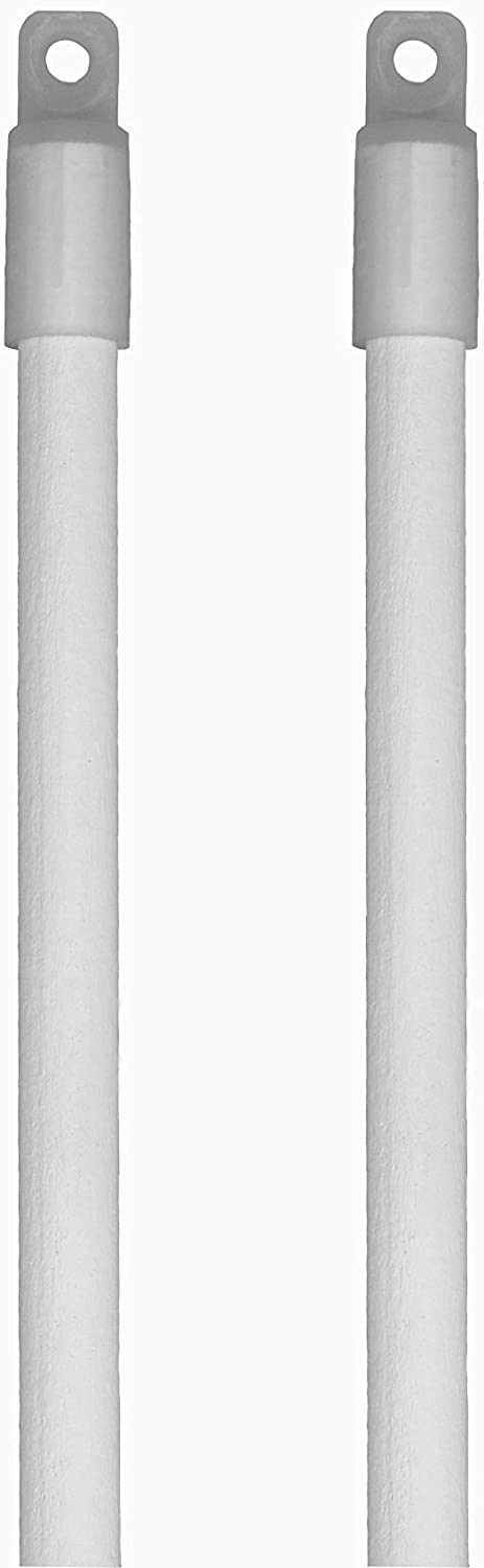 2 Pack - Snow White Wood overseas Available Replacement Blind Tilt Wand famous