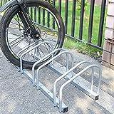 Aparcamiento para bicicleta soporte para aparcar 3 bicicletas suelo y pared montaje