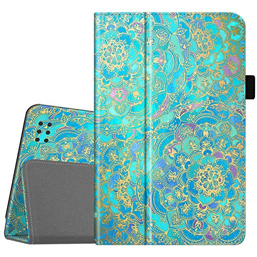 Fintie Folio Case for Kindle Fire 1st Generation -Slim Fit Stand Leather Cover for Amazon Kindle Fire 7  Tablet (Will only fit Original Kindle Fire 1st Gen-2011 Release, no Rear Camera),Shades of Blue