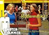 Straßenmusik á 2 Heft 2 für Blockflöte inkl. praktischer Notenklammer - 24 Duette aus Klezmer, Blues, Ragtime und Latin-Folk (broschiert) von Uwe Heger (Noten/Sheetmusic)