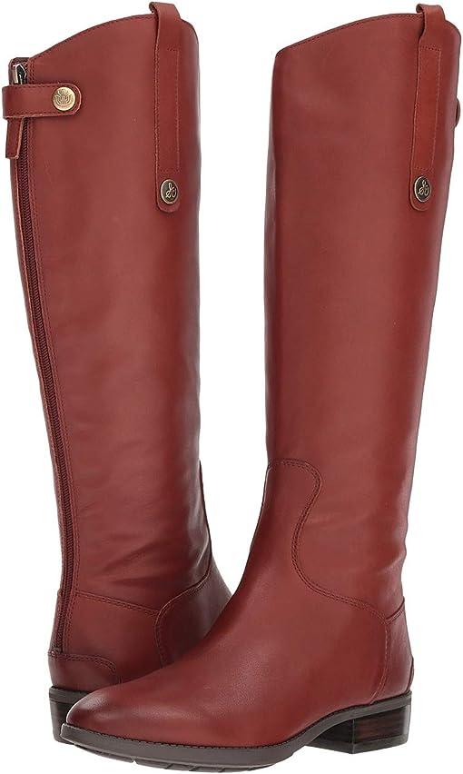 Redwood Brown Basto Crust Tumbled Leather