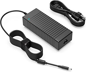 130W 90W AC Charger Fit for Dell OptiPlex 5080 7080 D14U001 D14U003 Inspiron 7510 7610 Vostro 7510 P106F002 P107F001 Laptop Power Supply Adapter Cord (4.5mm x 3.0mm)