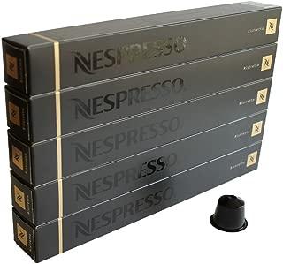 [ Import from EU ] Nespresso OriginalLine, Ristretto, 50 Count - ''NOT compatible with Vertuoline