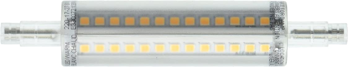 Feit Electric BPJ118/LED Feit 60W Equivalent R7S Warm White Non-Dimmable LED Light Bulb, Clear
