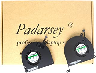 Padarsey A1286 Left+Right Side CPU Cooling Fan Compatible for MacBook Pro 15