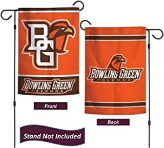 "Bowling Green State University Falcons 12.5"" x 18"" Double Sided Yard and Garden College Banner Flag is Printed in The USA,"