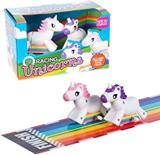 Funtime Gifts Wind-Up Racing Unicorns (Dispatched From UK)