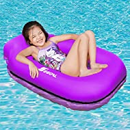SEGOAL Pool Floats Inflatable Floating Lounger Chair Water Hammock Raft Swimming Ring Pool Toy for Kids, Lightweight Single Layer Nylon Fabric No Pump Required, 1 Second Filling The Air