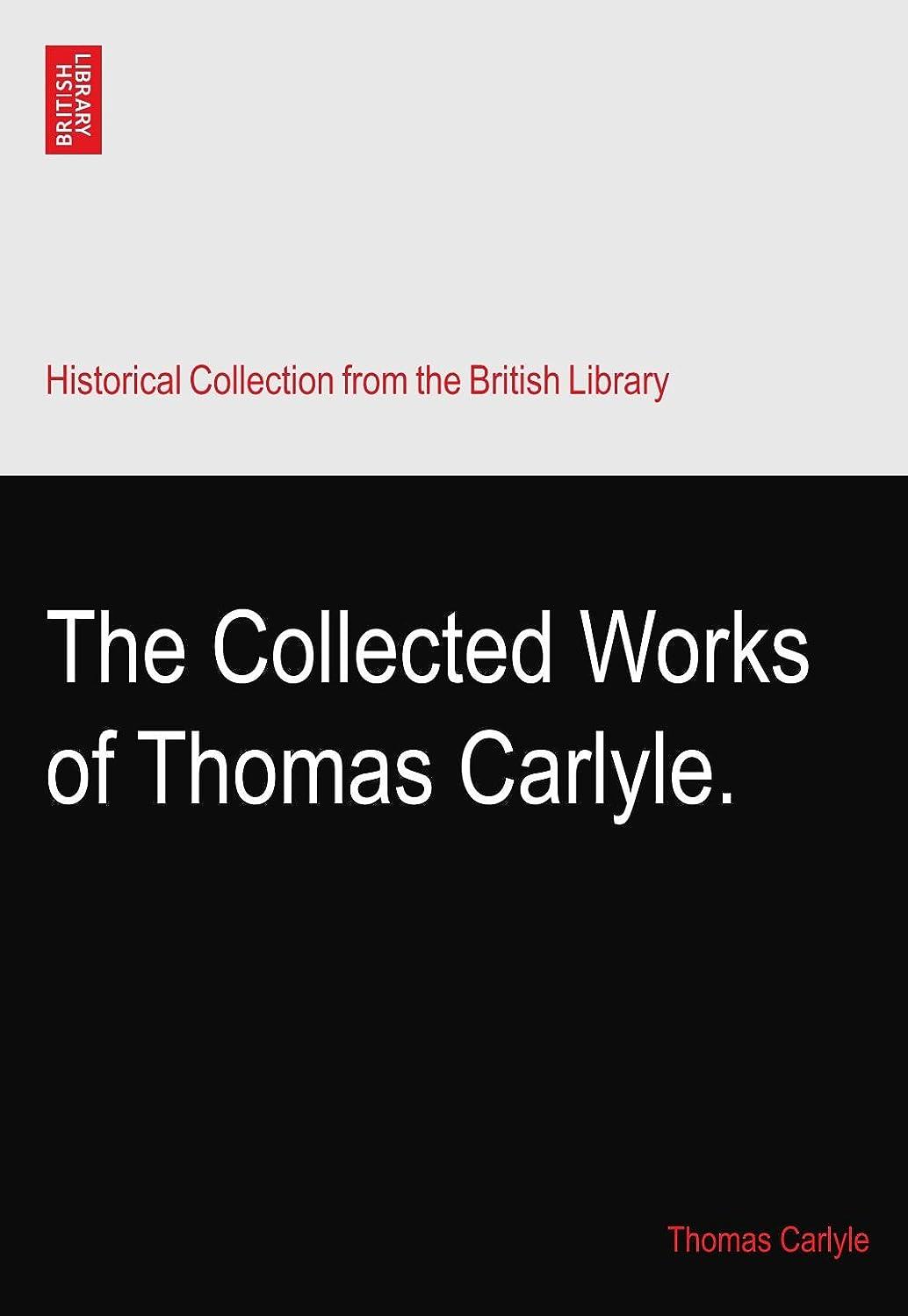 リブものどっちでもThe Collected Works of Thomas Carlyle.