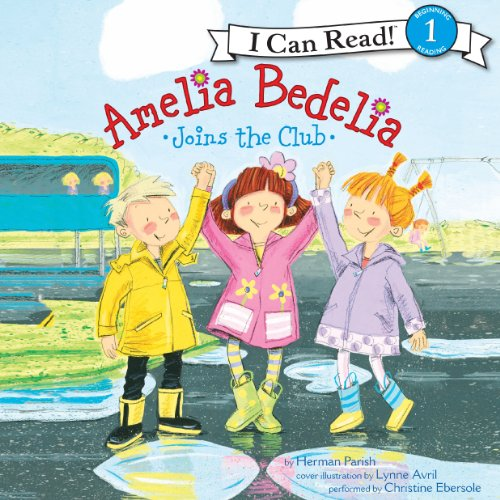 Amelia Bedelia Joins the Club audiobook cover art