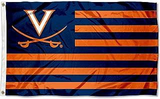 Virginia Cavaliers Stars and Stripes Nation Flag