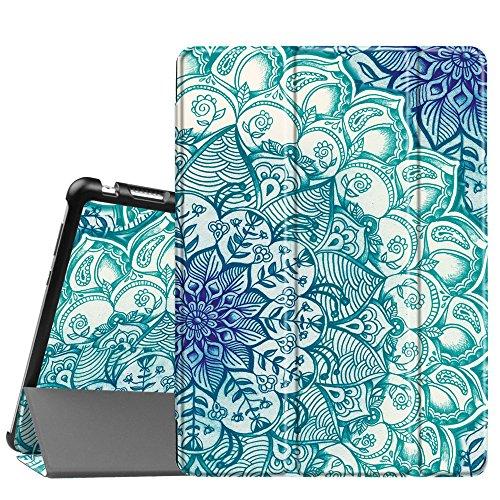 Fintie Huawei Mediapad M3 Lite 10 Hülle - Ultra Dünn Superleicht SlimShell Case Cover Schutzhülle Etui Tasche mit Zwei Einstellbarem Standfunktion für Huawei Mediapad M3 Lite 10 Zoll, smaragdblau