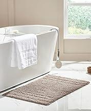 RT Designers Collection Erin 24 x 36 in. Cotton Bath Rug in Beige