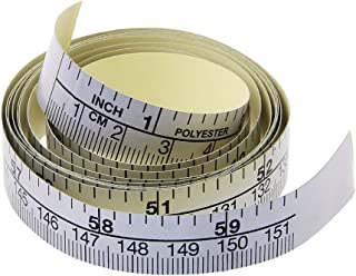 Forgun 151cm Self Adhesive Metric Measure Tape,Vinyl Ruler for Sewing Machine Sticker