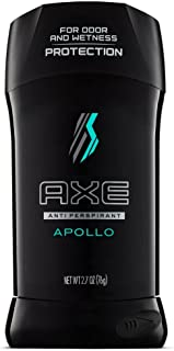 Axe Apollo Anti Perspirant and Deodorant Stick, 2.7 Ounce (Value Pack of 12)