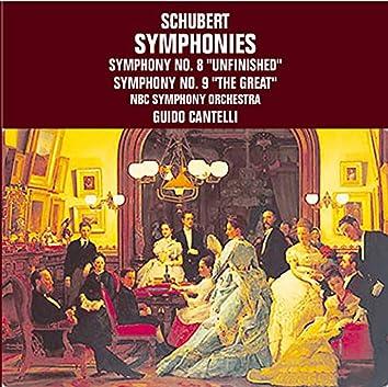 Schubert: Symphonies Nos. 8 & 9 (Live)
