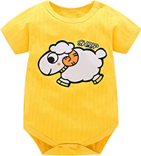 045e0dc949a6d Animal Style Short Sleeve Infant Rompers Jumpsuit Cotton Baby Rompers  Newborn Clothes Kids Clothing