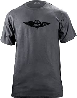 Vintage Army Parachute Rigger Badge Subdued Veteran T-Shirt