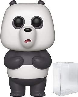 Funko Animation: We Bare Bears - Panda Pop! Vinyl Figure (Includes Compatible Pop Box Protector Case)