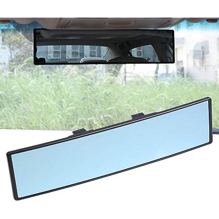 Eluto Rückspiegel Auto Innen Rückspiegel Universal Innenspiegel Auto Pkw Lkw Anti Blend Winkeleinstellung Rückspiegel Auto