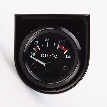 52mm Digital Elektrischer Öltemperaturanzeige Anzeige Sensor Auto Motorrad Auto
