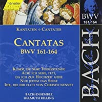 Bach: Cantatas BWV 161-164 by J.S. Bach (2000-06-27)