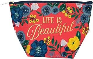 Mary Square Life is Beautiful Mini Carryall Travel Bag, Monaco