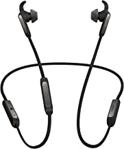 Jabra Elite 45e Wireless Earbuds, Titanium Black – Alexa Enabled, Wireless Bluetooth Earbuds, Around-The-Neck Style with a Secure Fit and Superior Sound for Music and Calls, Long Battery Life