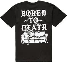 RUSTY BUTCHER Breakout Mens T-Shirt, Black, X-Large