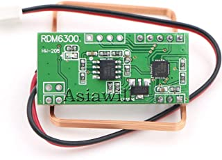 Asiawill RDM6300 125Khz EM4100 RFID Reader Module UART Output Access Control System for Arduino