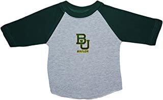 Baylor University Bears Baby and Toddler 2-Tone Raglan Baseball Shirt