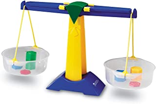 Learning Resources Pan Balance Jr, Science Class Experiments, Measurement Tool, Ages 3+