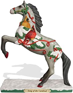 "Enesco Trail of Painted Ponies ""Song of the Cardinal"" Stone Resin Figurine, 8.23"""