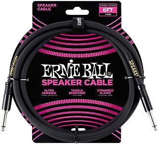 Ernie Ball P06072 Ernie Ball Straight Speaker Cable, 2 Meters, 2 Meters