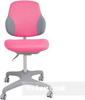 FD FUN DESK Inizio Pink-Silla de Escritorio ergonómica (Altura Regulable), Color Rosa, 500x520x650 mm
