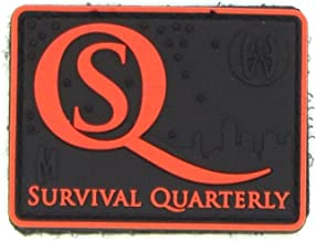 Maxexpedition Survival Quarterly Magazine Hoods Woods Full Color 3D Patch