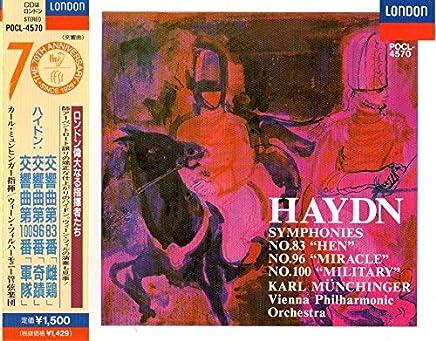 ハイドン/交響曲 第83番 ト短調「雌鶏」