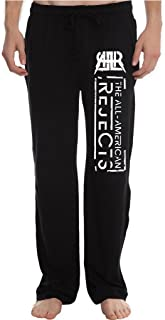 RBST Men's the all american rejects band logo Running Workout Sweatpants Pants