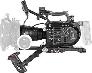 jtz DP30/cine Follow Focus Folge Enfoque Fijaci/ón//liberaci/ón r/ápida Quick Release 15/mm//19/mm Kit para fs700/C300/C500/BMCC Ursa Mini a7/m2/GH4/GH5/Arri PL objetivos
