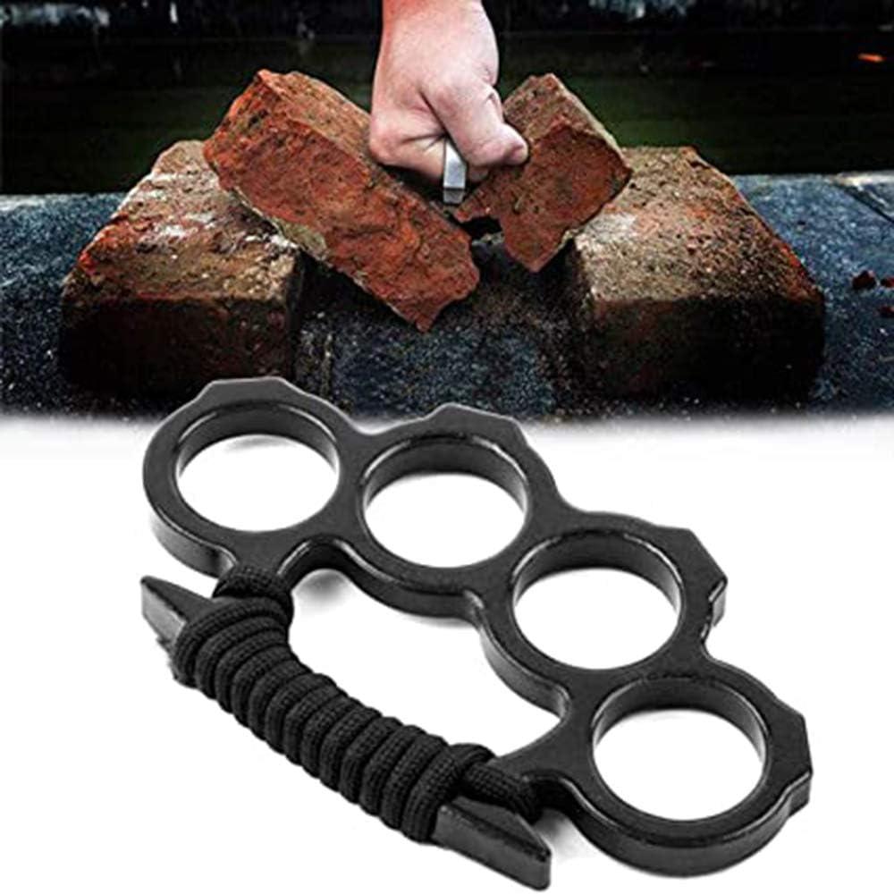 Metallkn/öchel Black Messingkn/öchelring Kn/öchelstaubtuch