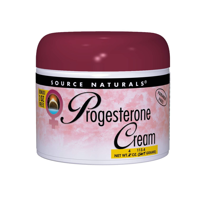 Source Naturals Progesterone Cream Ounces