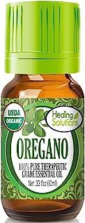 Organic Oregano Essential Oil (100% Pure – USDA Certified Organic) Best Therapeutic..