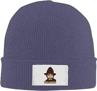 Unisex Country Music Merle Haggard Hag Fashion Beanie Caps