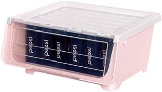 Boîte de rangement Boîte de rangement de jouet Boîte de rangement en plastique Ouverture avant Child Clamshell Armoire de ...