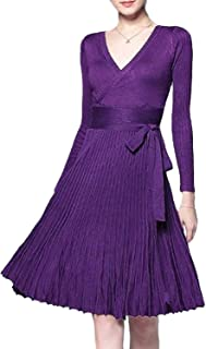 Best surplice belted dress Reviews