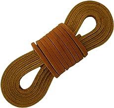 Amazon.com: brown leather shoe laces