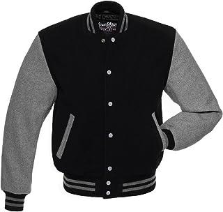 Stewart & Strauss Original All Wool Varsity Letterman Jackets (5 Team Colors) Wool XXS to 6XL,Original