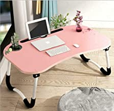 Foldable Laptop Bed Table Lap Desk Stand, Serving Tray Dining Table with Slot, Notebook Stand Holder, Bed Tray Laptop Desk...